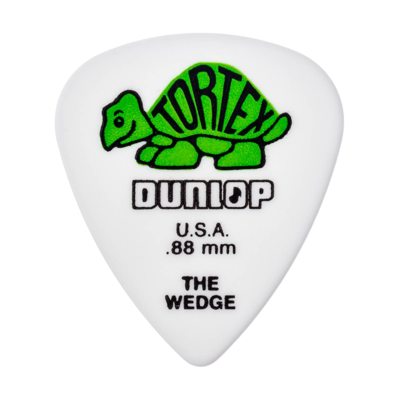 DUNLOP TORTEX WEDGE .88 PICKS 12pk