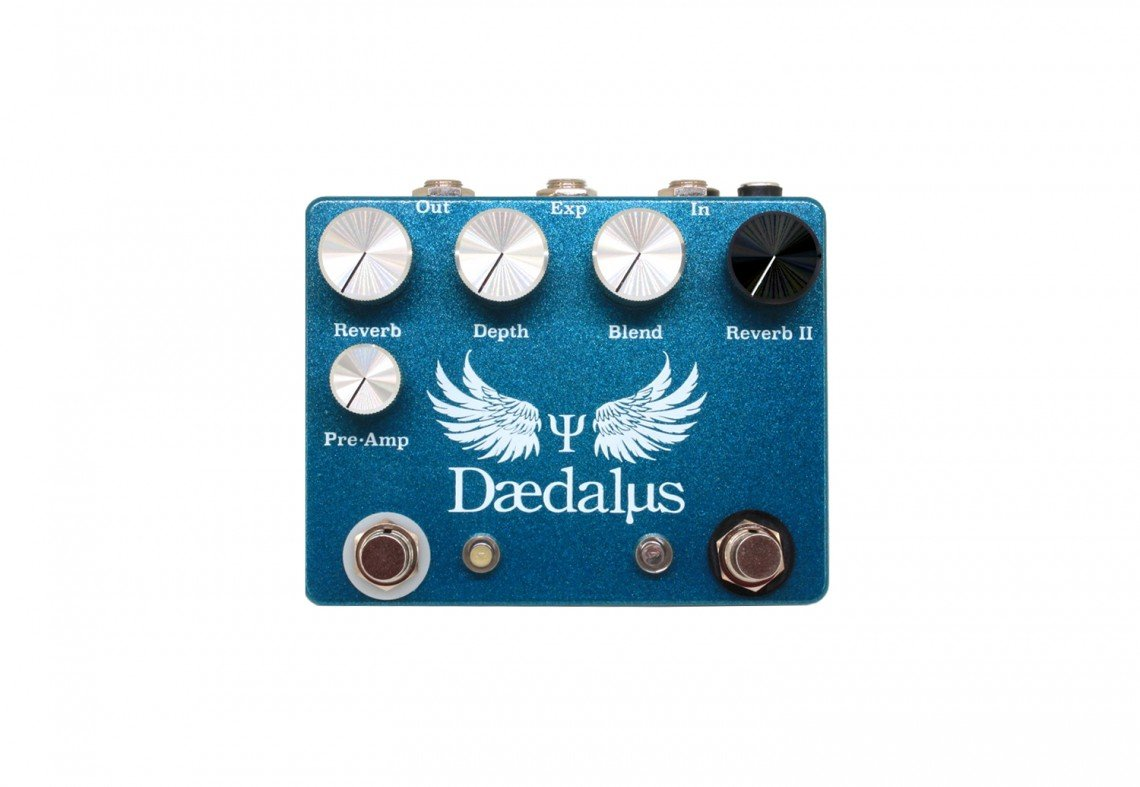 Copper Sound Daedalus Dual Reverb w/ external effects insert