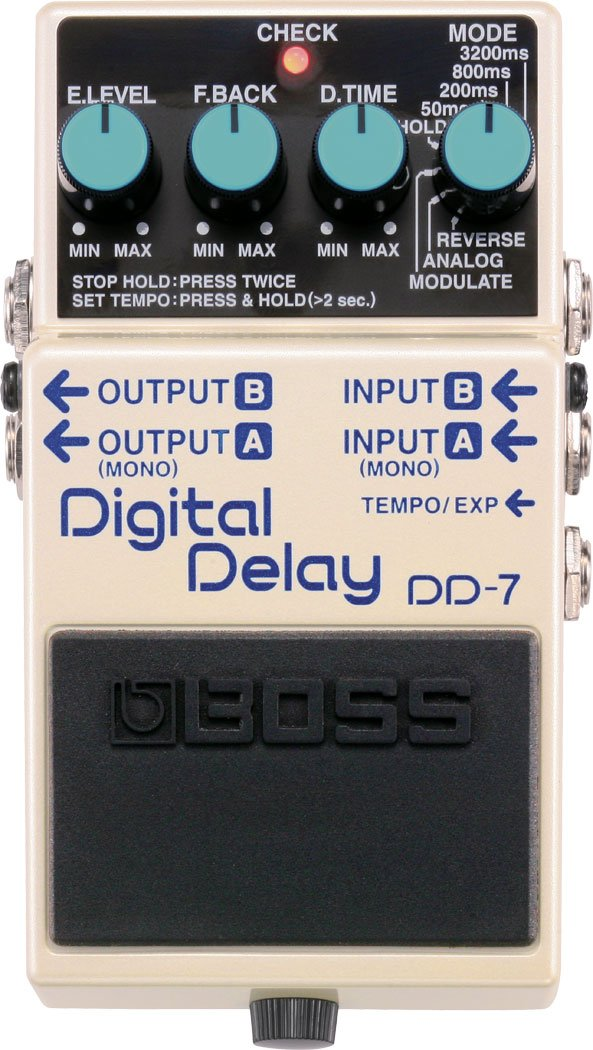 Boss DD-7 delay
