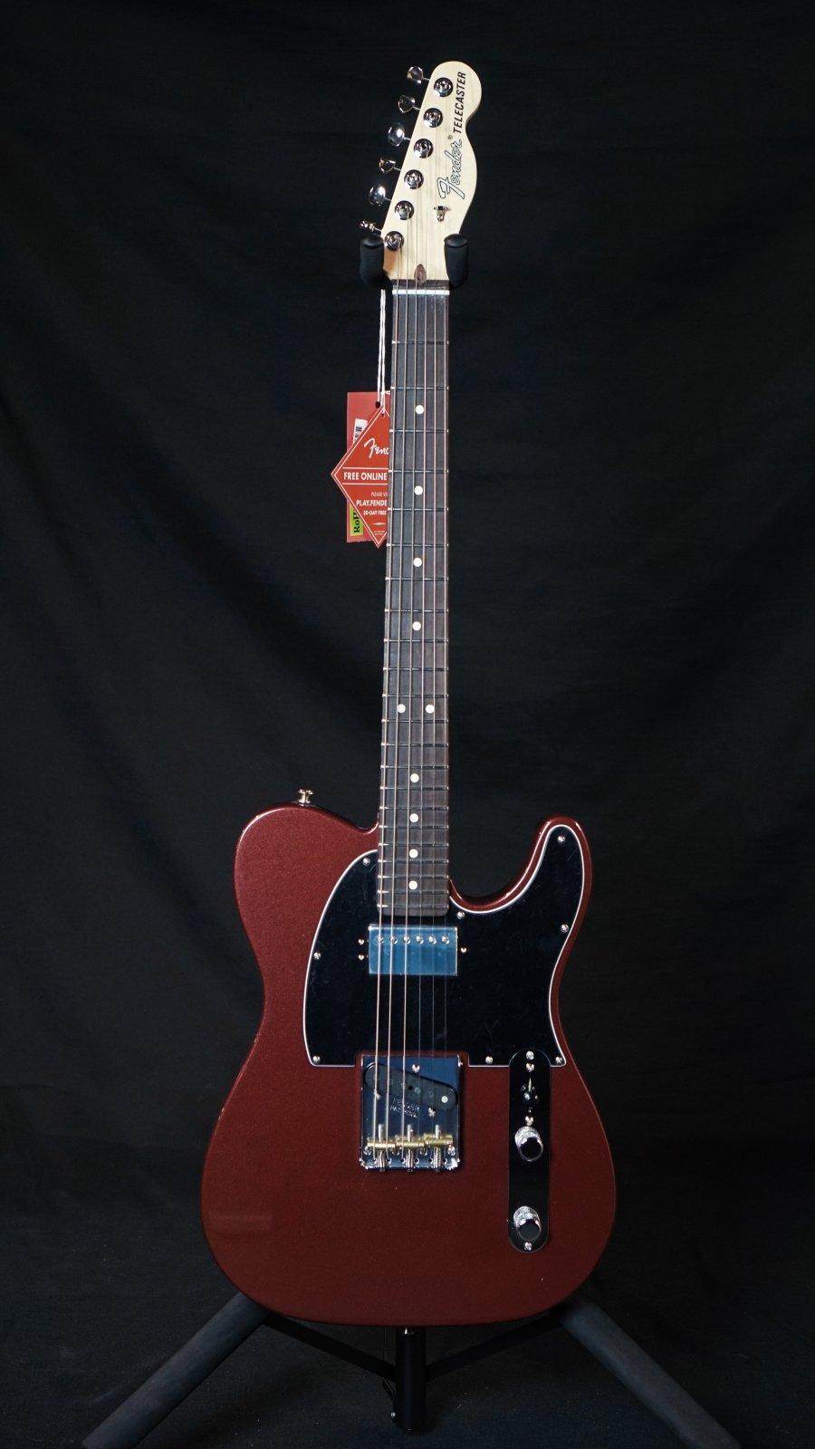 Fender American Performer Telecaster with Humbucking, Rosewood Fingerboard, Aubergine