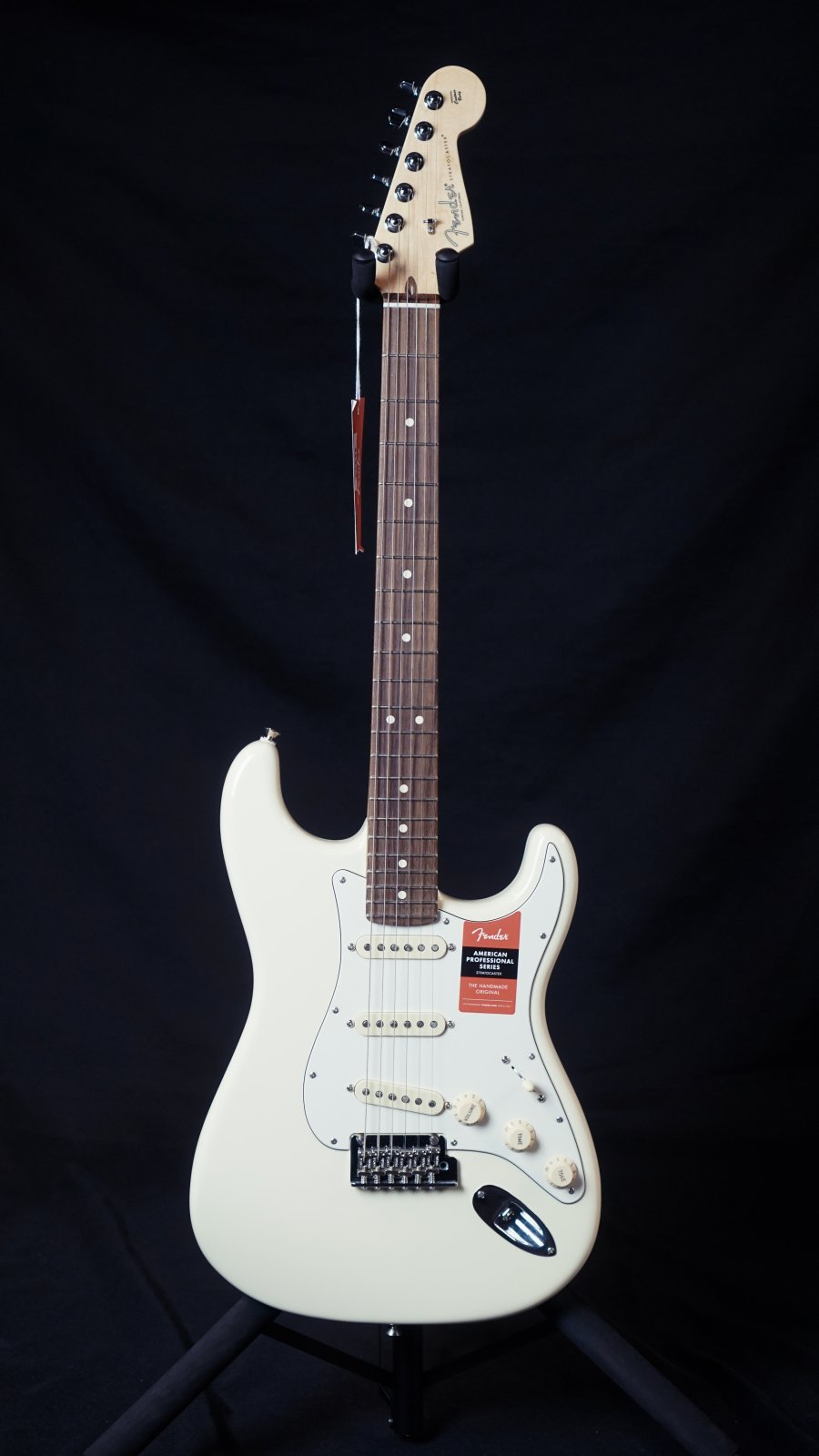 Fender American Pro Stratocaster Olympic White Rosewood