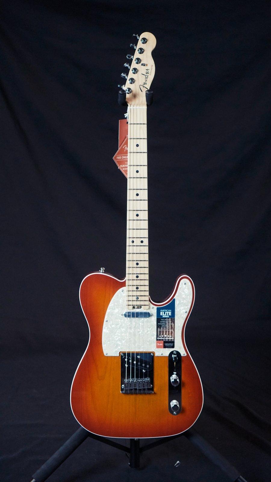 Fender American Elite Telecaster Aged Cherry Maple