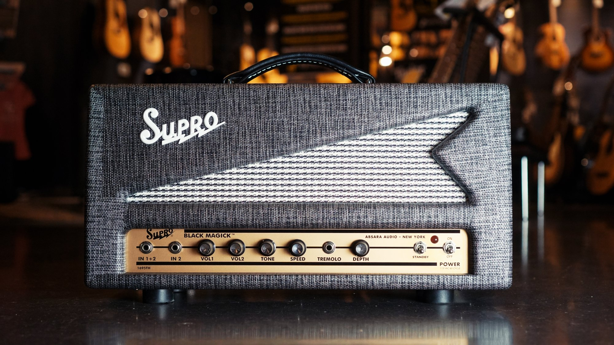 Supro1695TH Head Version of Black magick