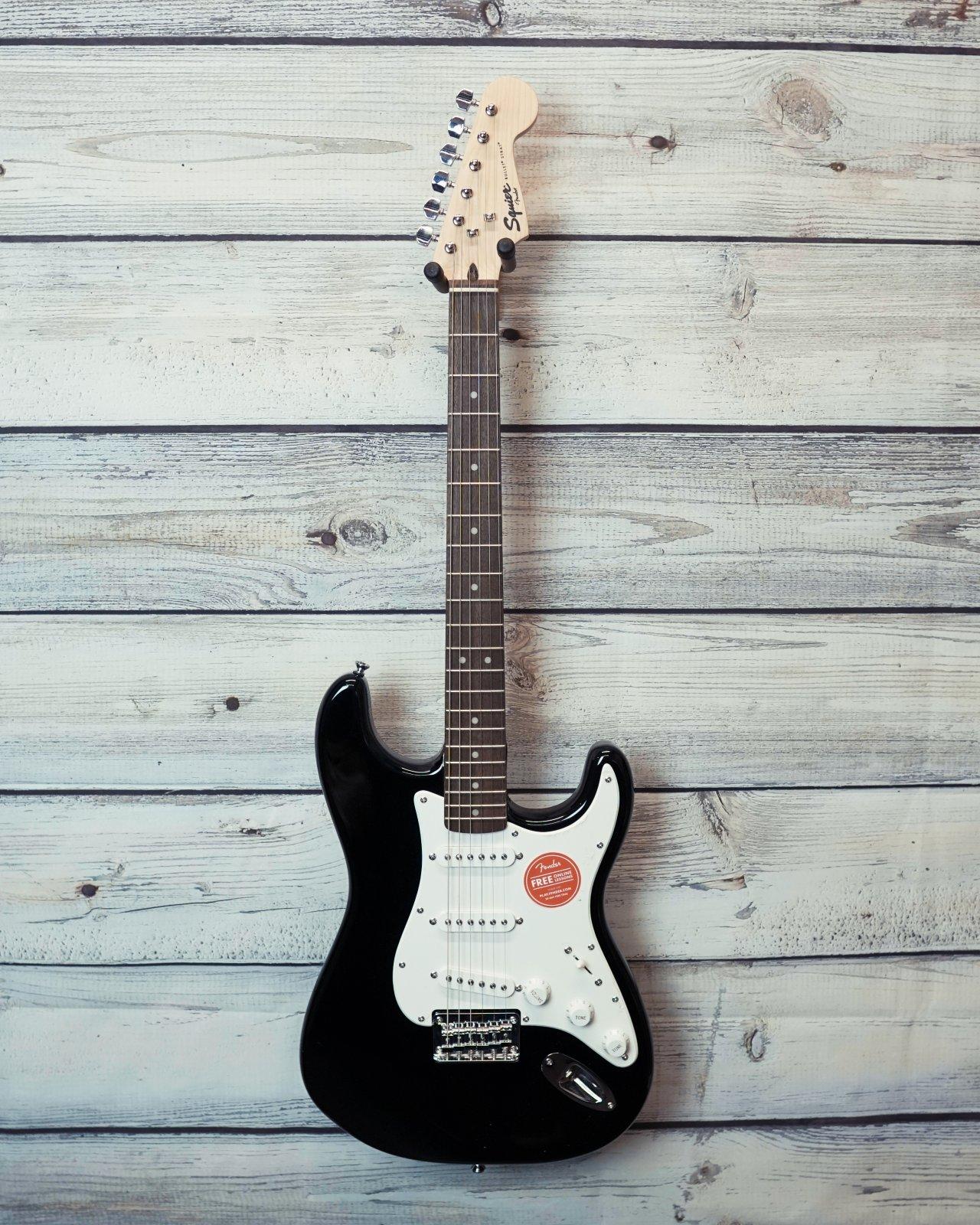 Squier Bullet Stratocaster Hard Tail, Laurel Fingerboard, Black