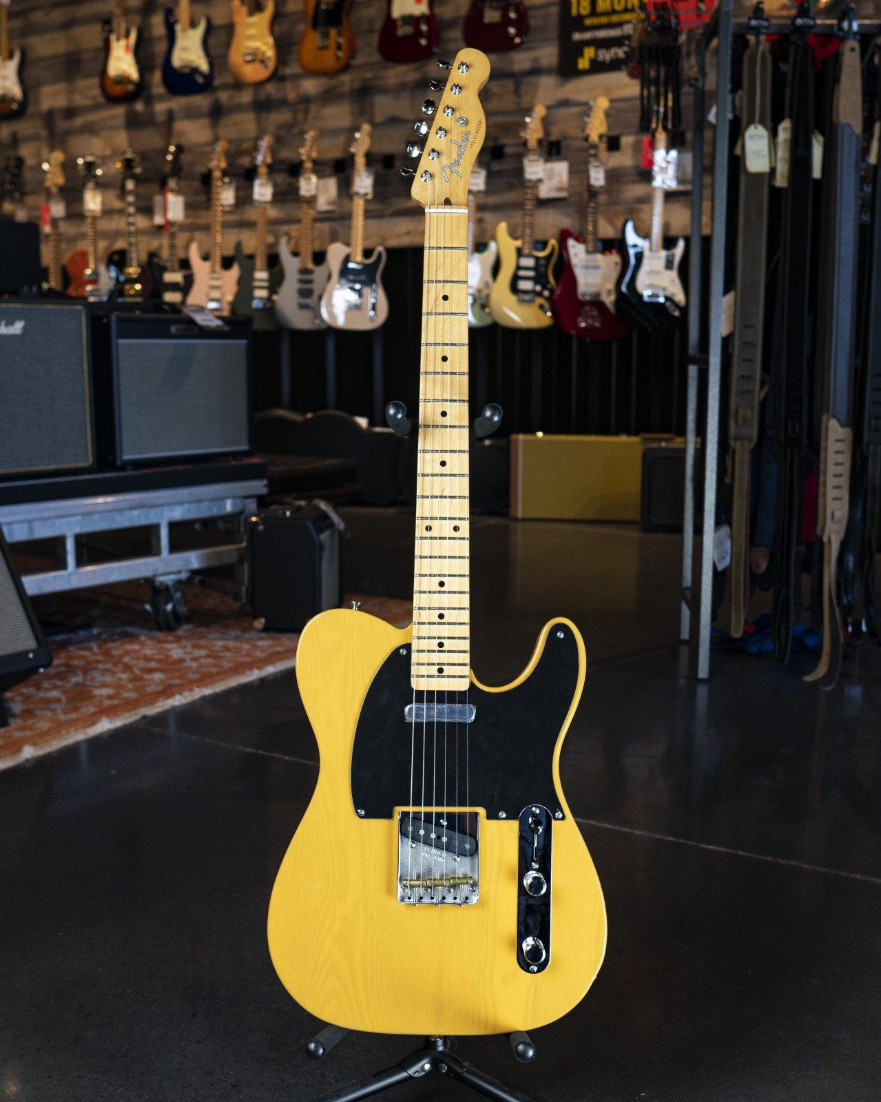 Fender Vintera '50s Telecaster Modified, Maple Fingerboard, Butterscotch Blonde