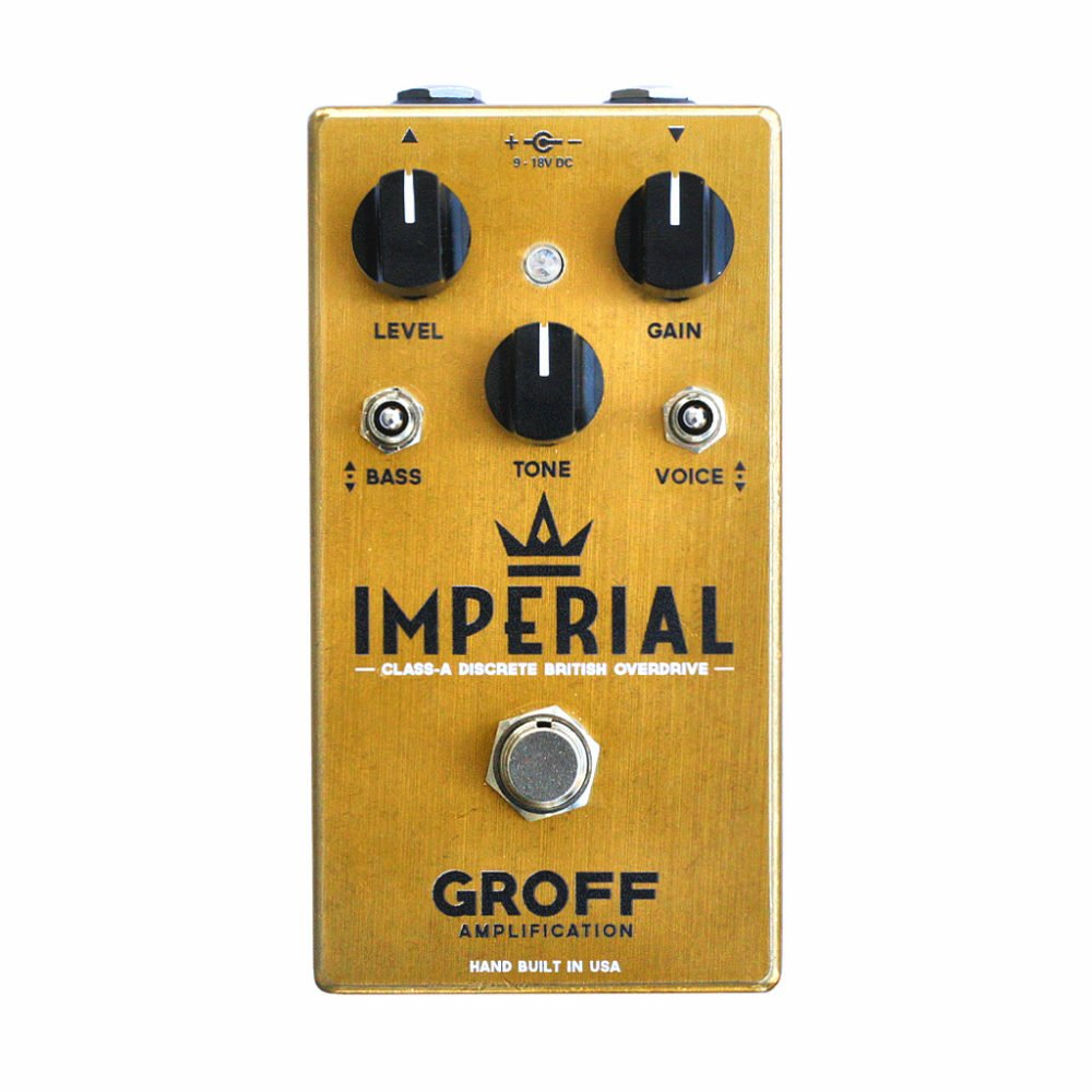 Groff Amplification Imperial Overdrive
