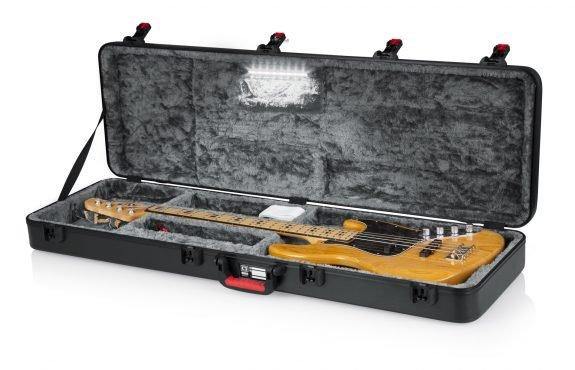 Gator TSA Bass Guitar Case, w/LED Illumination
