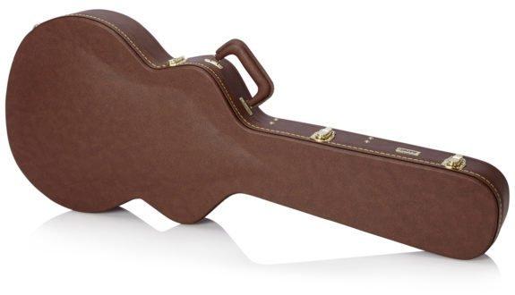 Gator GW335BROWN Semi-hollow Deluxe Wood Guitar Case