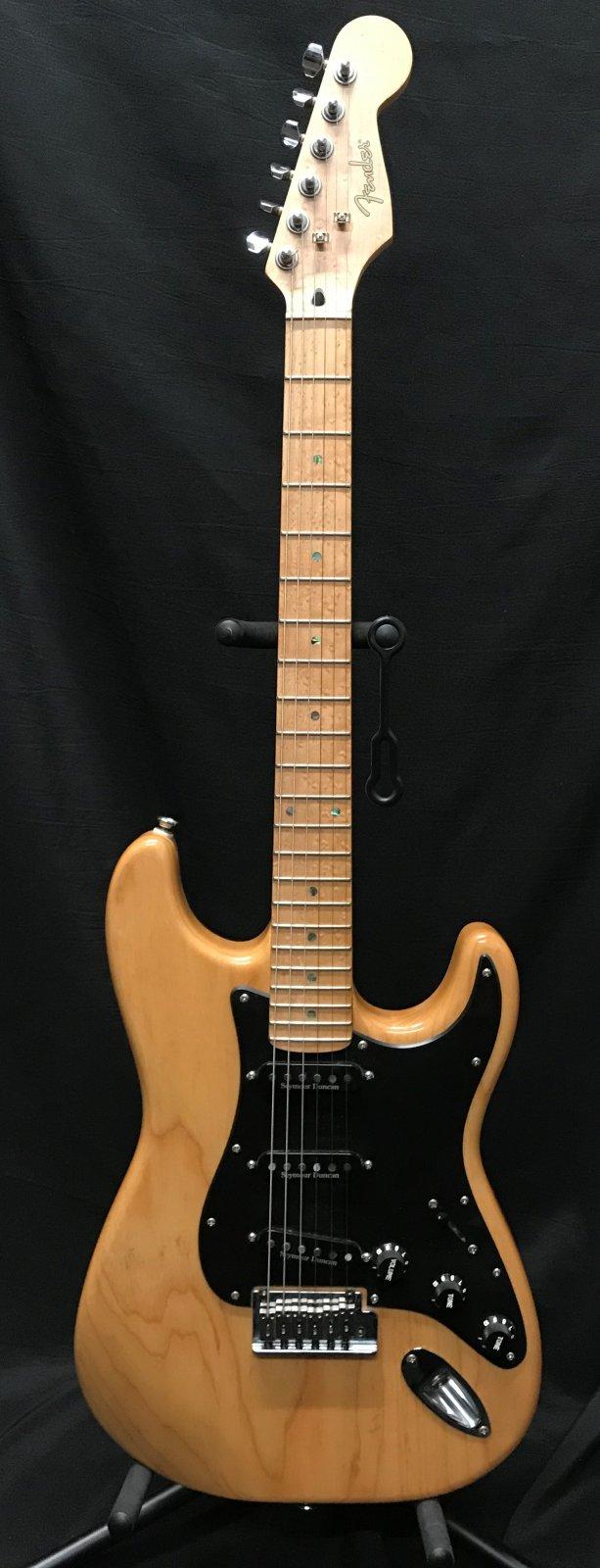 Used Fender Light Ash Stratocaster Made in Korea