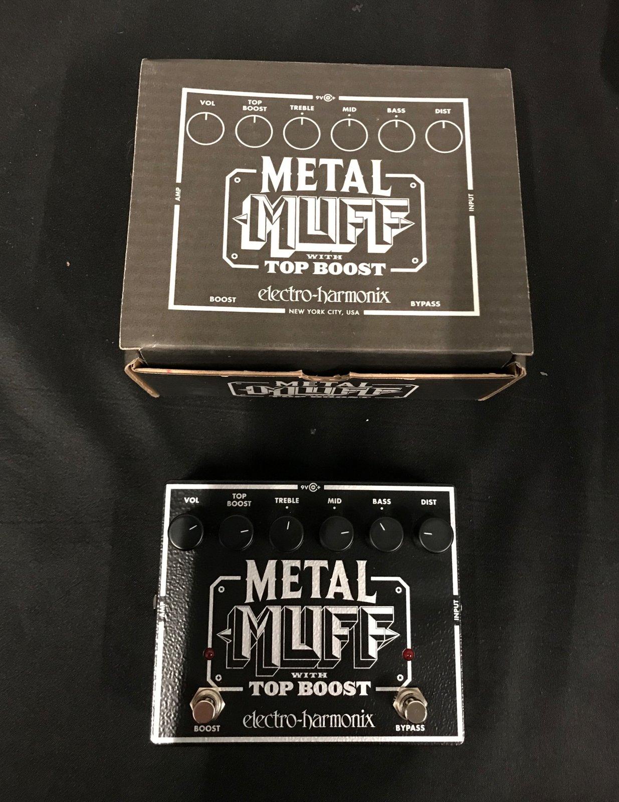 Used Electro-Harmonix Metal Muff