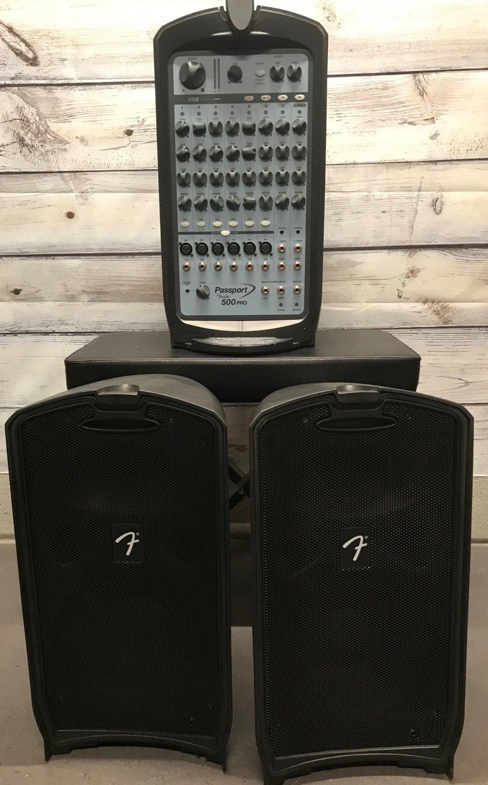 Used Fender Passport 500 Pro