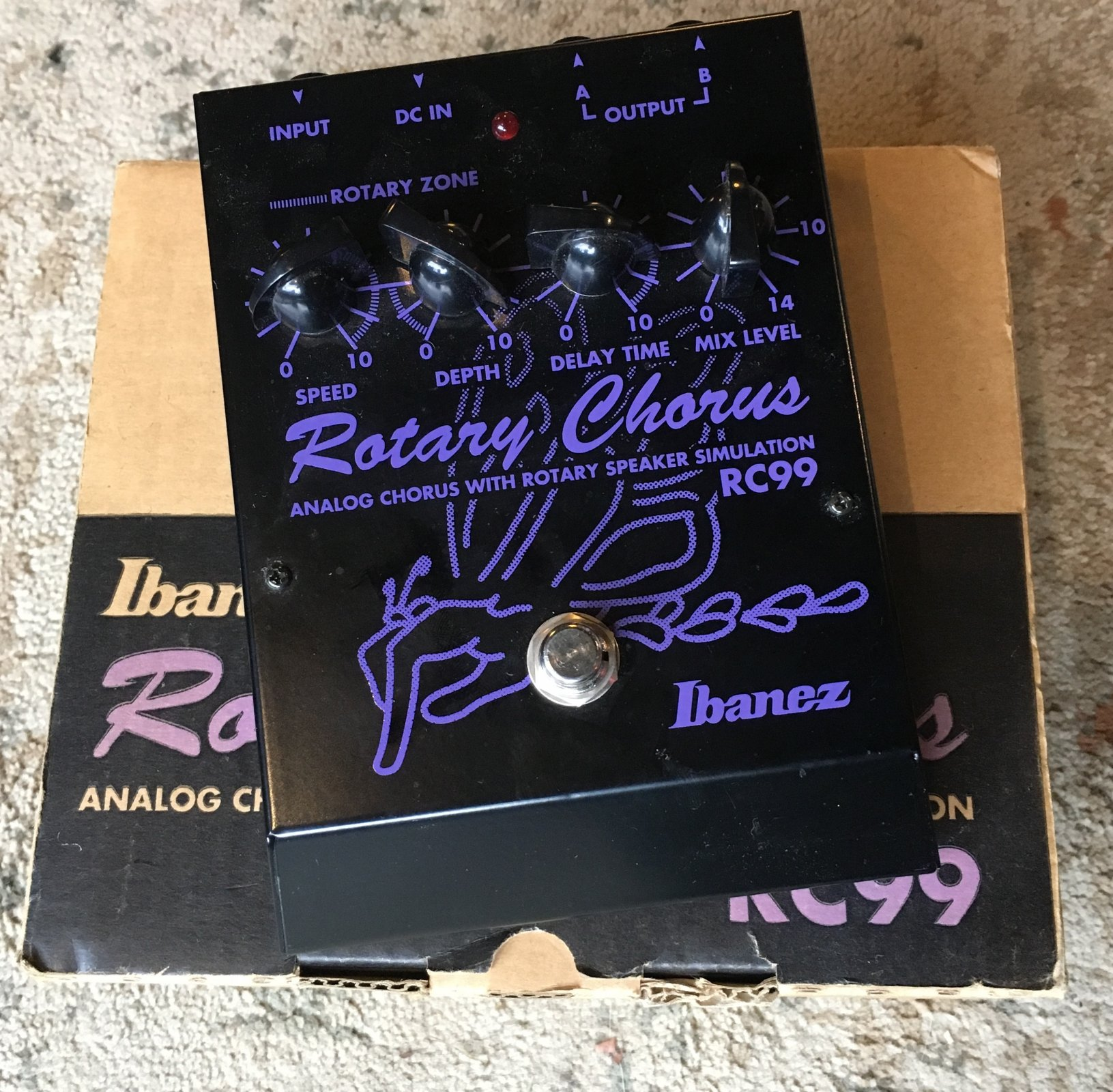 Used Ibanez RC99 Rotary Chorus
