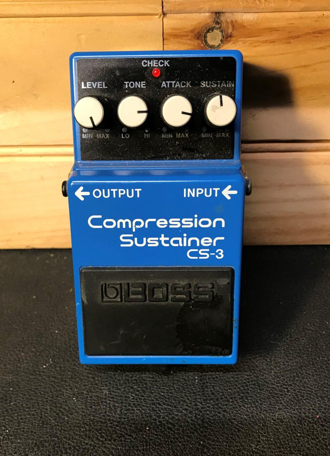 Used Boss CS-3 Compressor/Sustainer