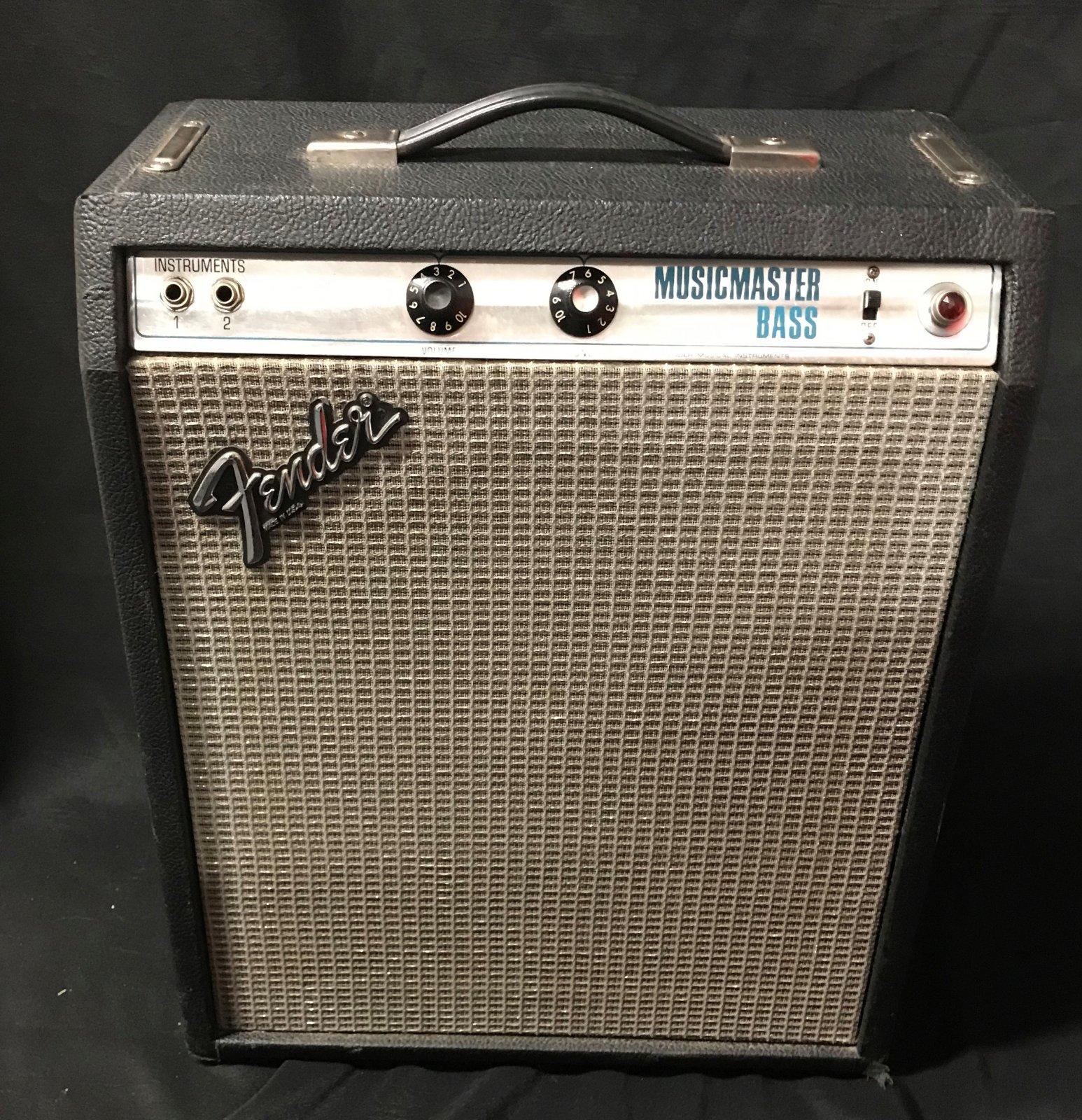 Used Fender Music Master Bass Amp