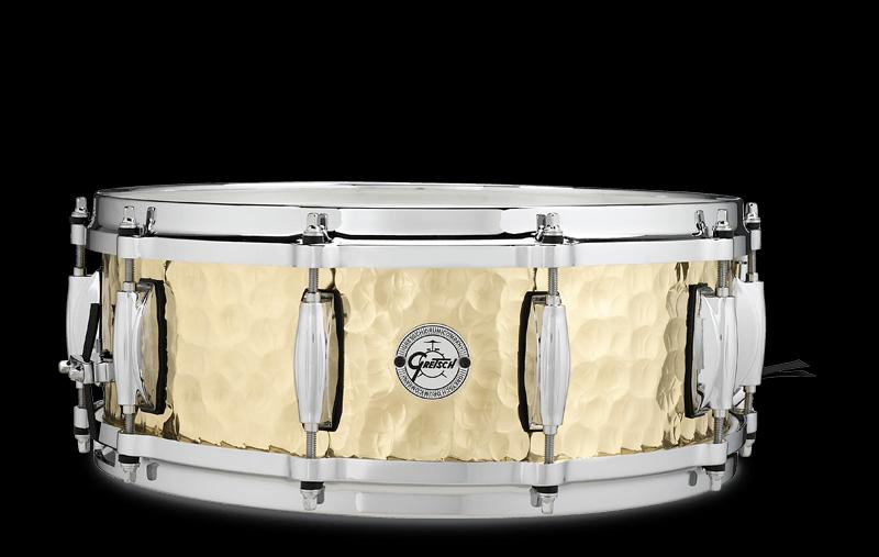 Gretsch Hammered Brass Snare Drum 5x14