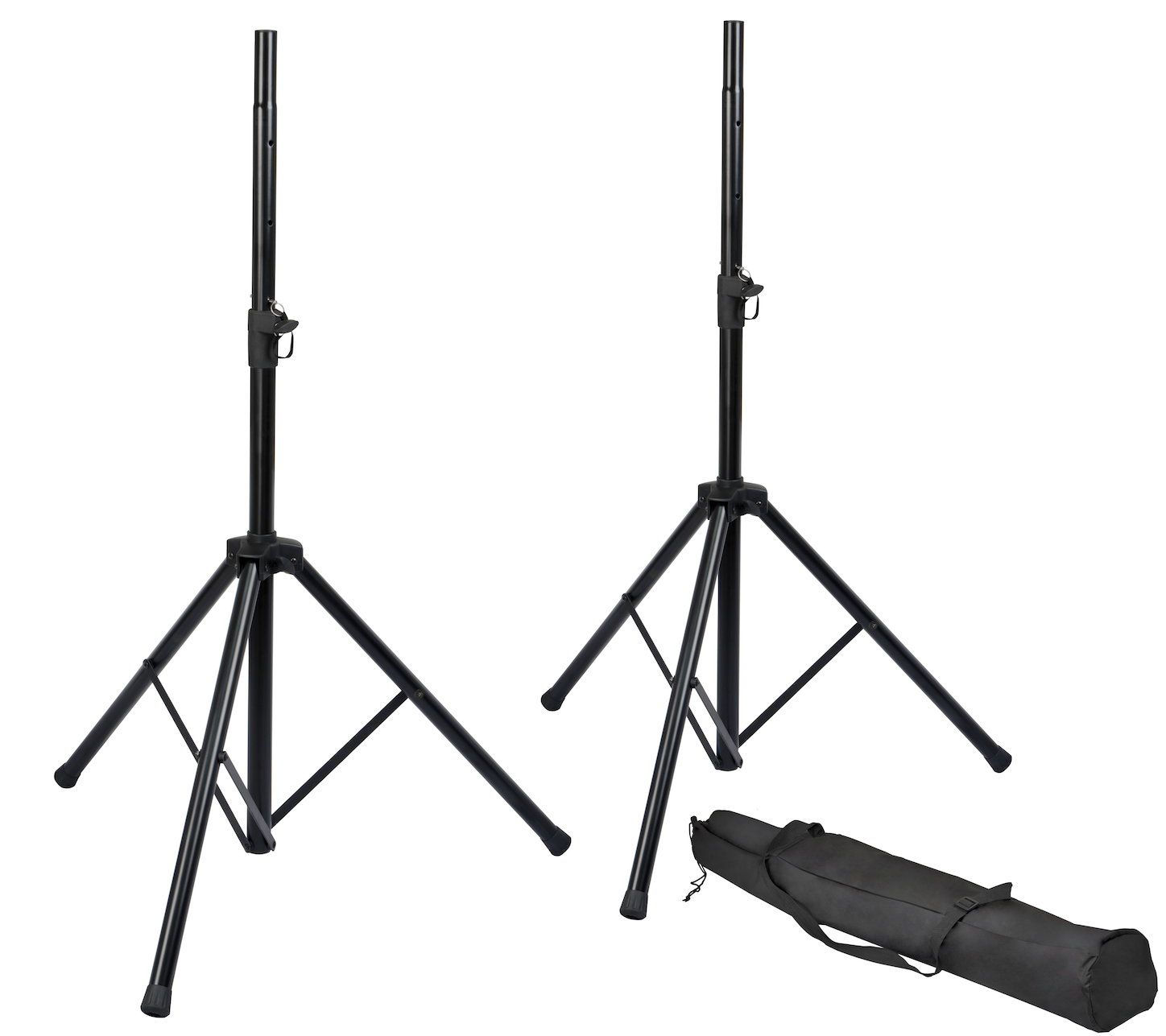 Gator ROK-IT speaker stand set with carry bag