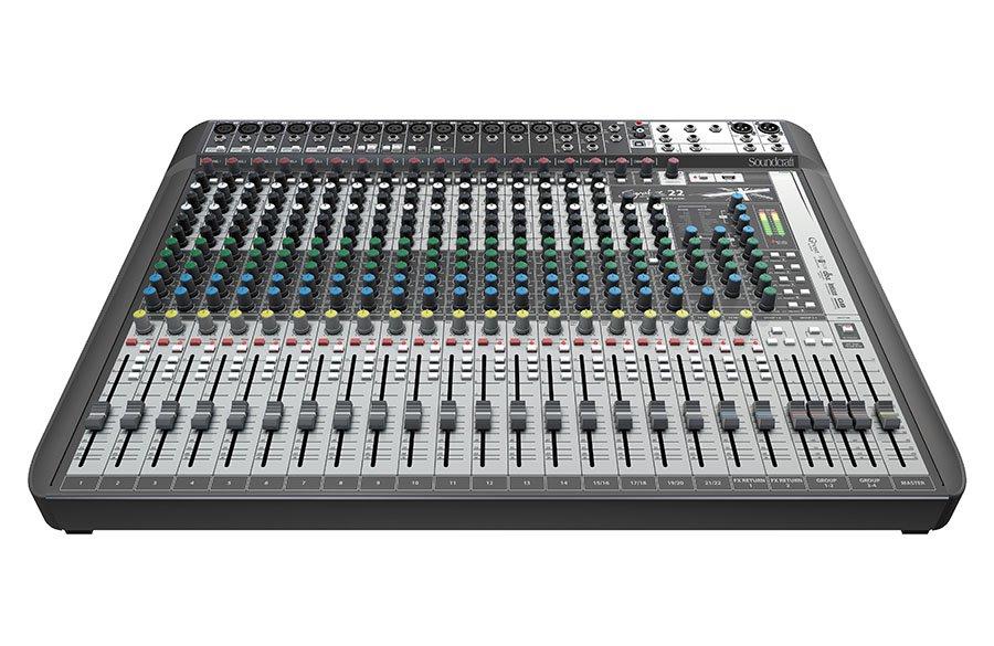 Soundcraft Signature 22 MTK Mixer w/ recording