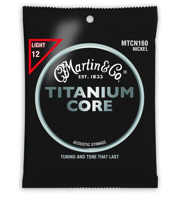 Martin MTCN160 Titanium Core Acoustic Strings