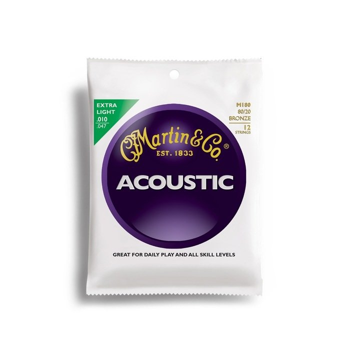 Martin M180 80/20 12 String Acoustic