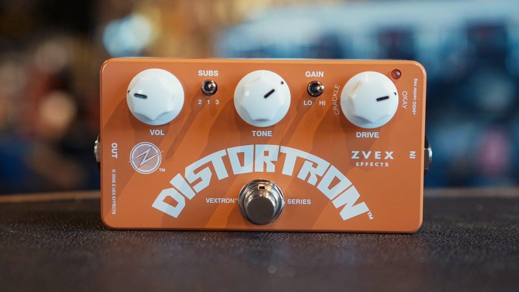 Zvex Orangesicle Distortion