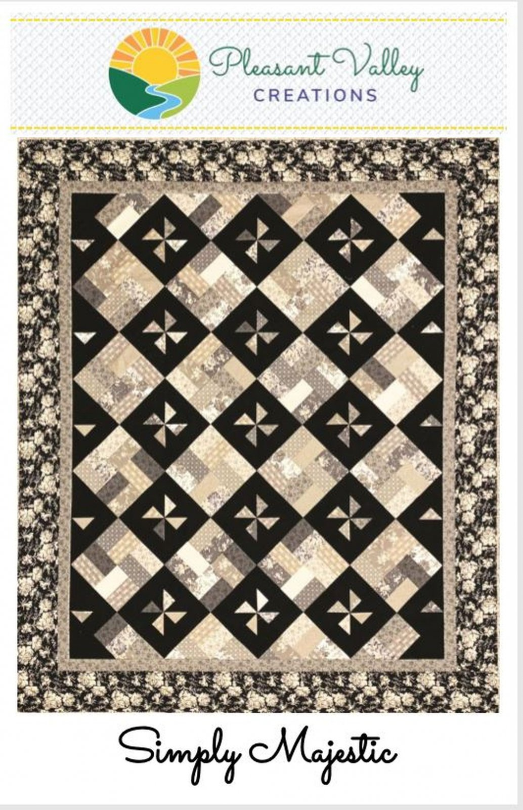Simply Majestic Quilt Pattern - digital download #456