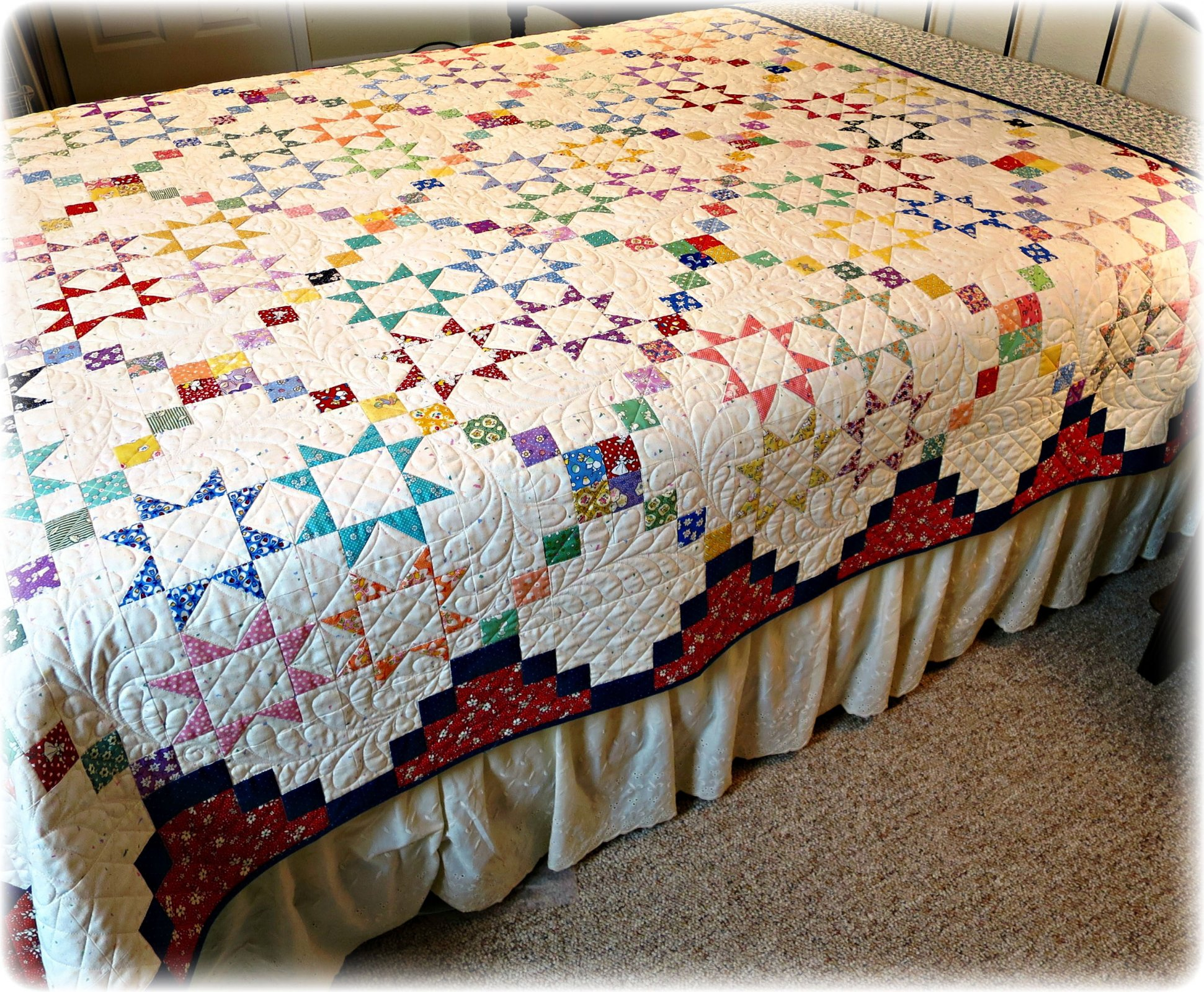 Lucky Stars Quilt Pattern Digital Download #449