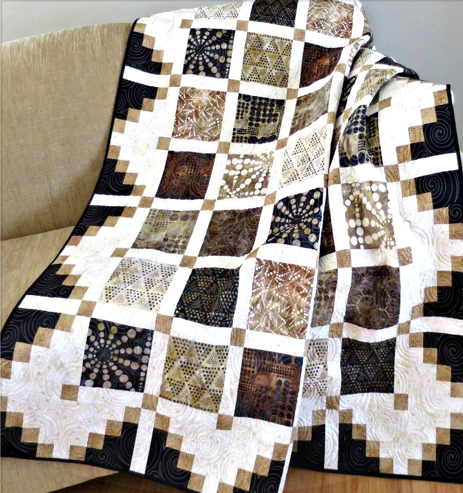 Simply Cool Quilt Pattern Digital Download #444