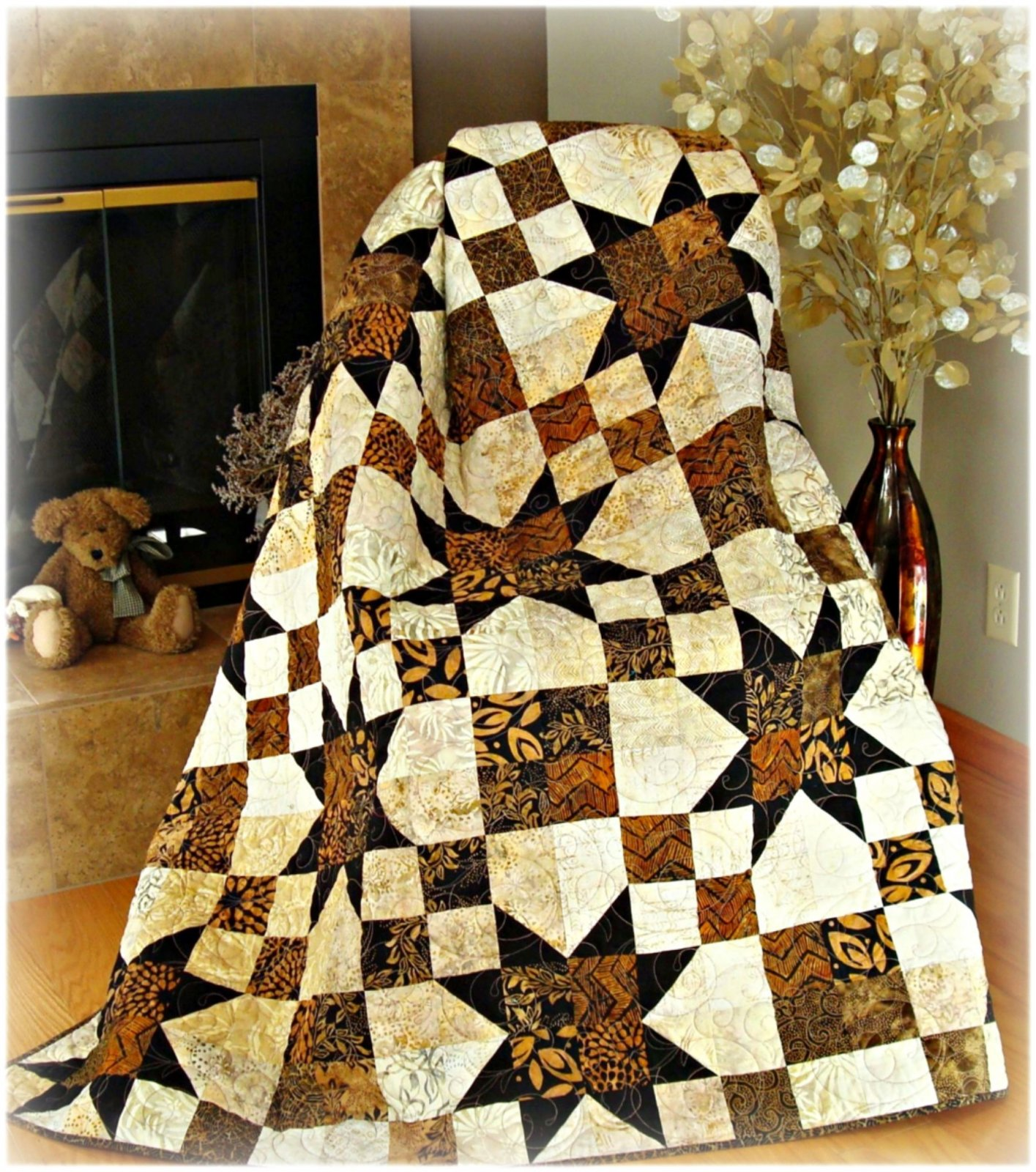 Simply Elegant Quilt Pattern Digital Download #434