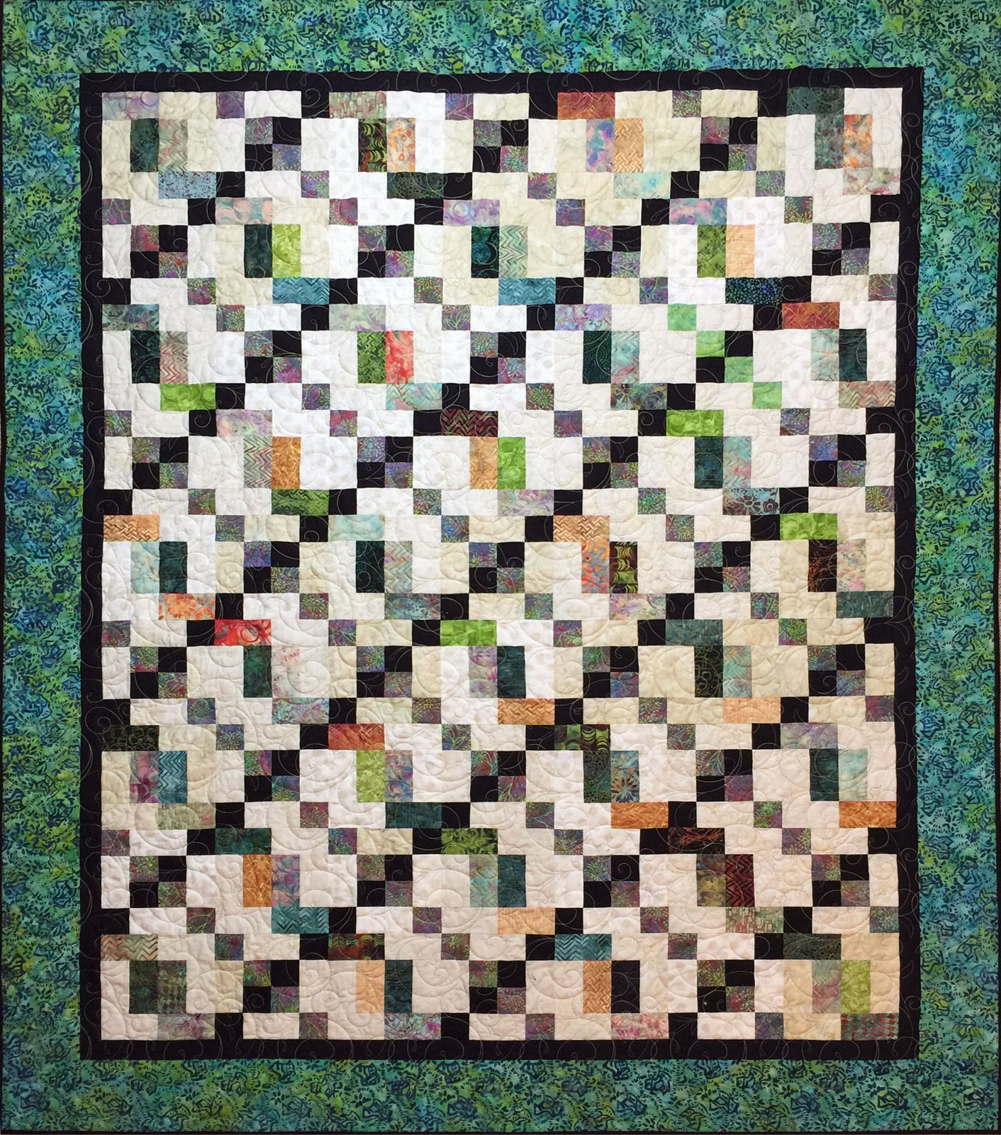 Home Town Quilt Pattern - Digital Download #452