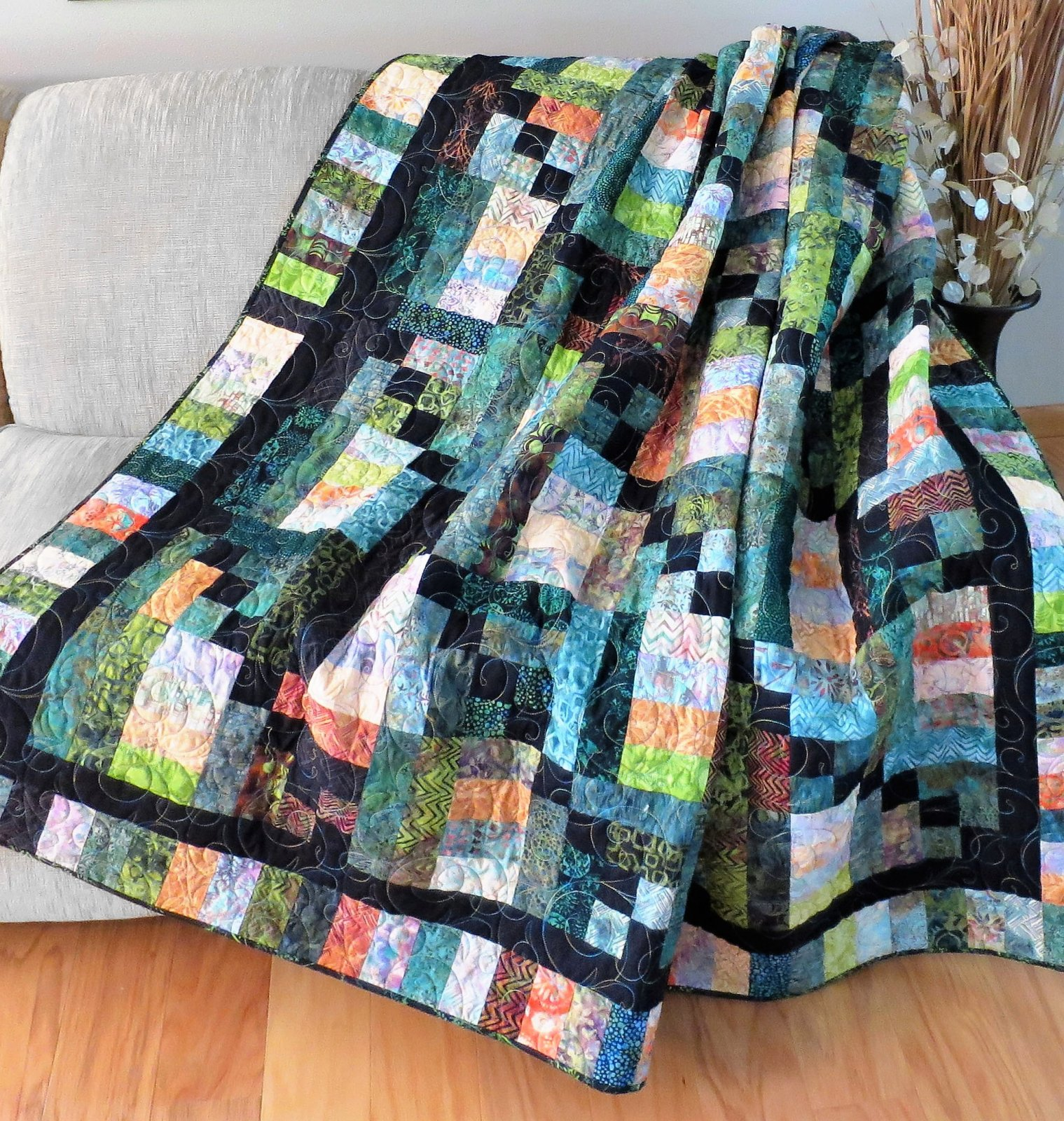 #442 Woodland Daybreak Quilt Pattern Digital Download