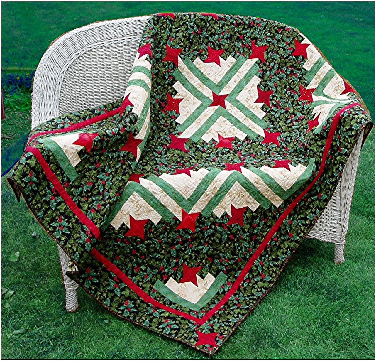 Friendship Log Cabin Pattern  - Paper Pattern #413