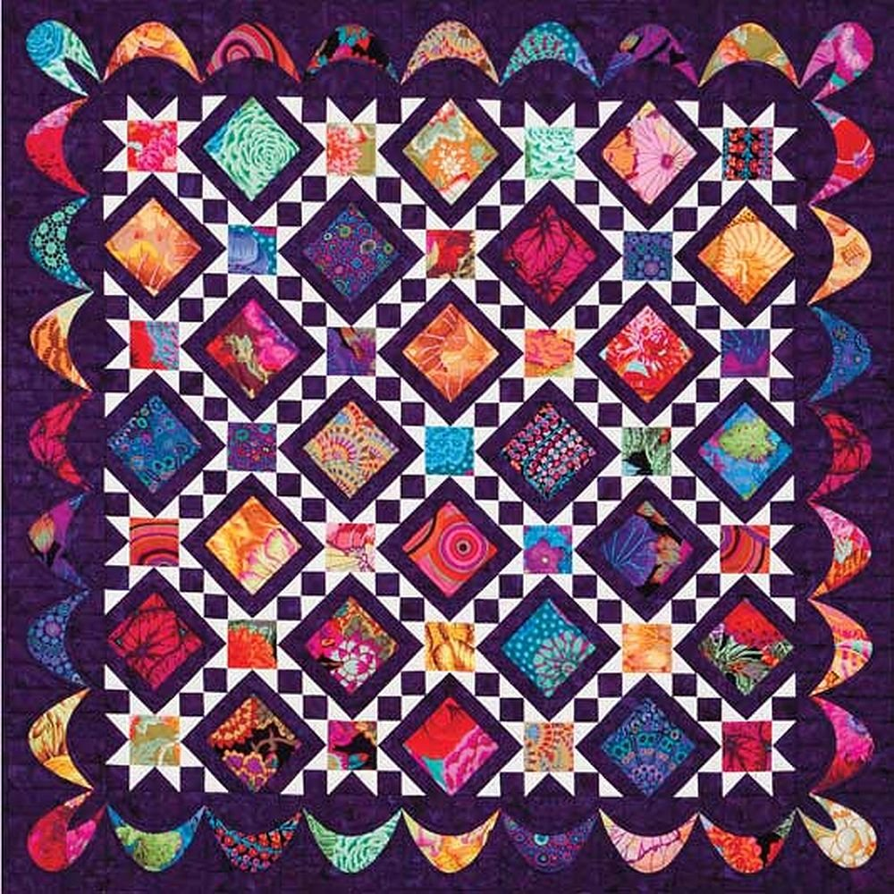 Jewel Patch Pattern Digital Download #424