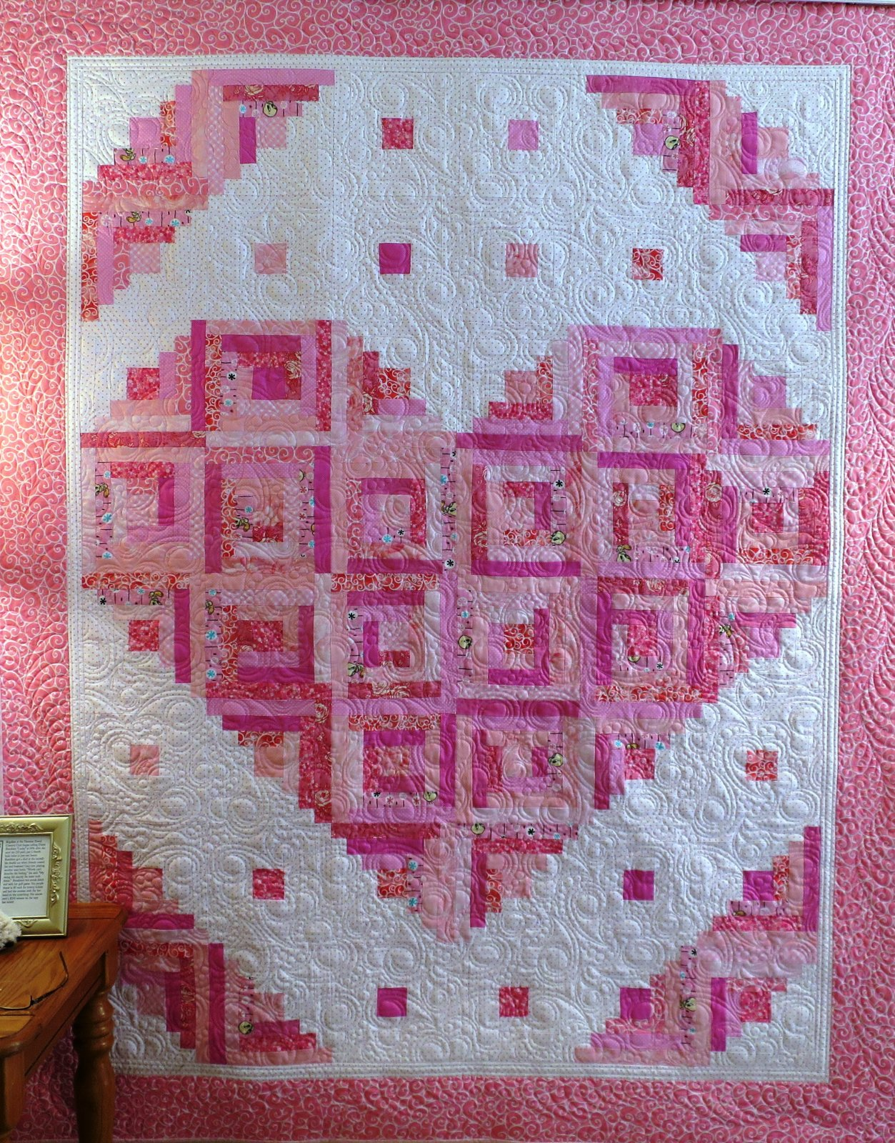 Loving Heart Quilt Pattern Digital Download #441