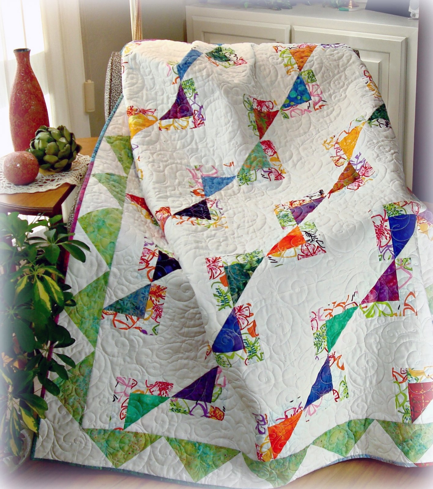 Newport Fantasy Quilt Pattern Digital Download #433
