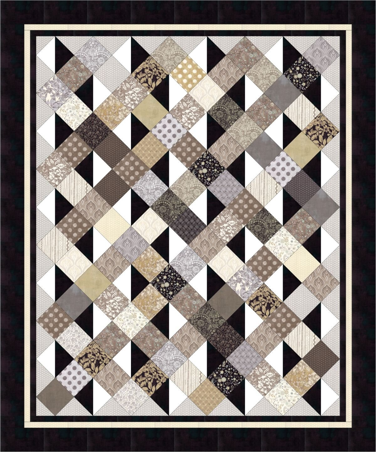 #453 Simply Serene - Paper Quilt Pattern