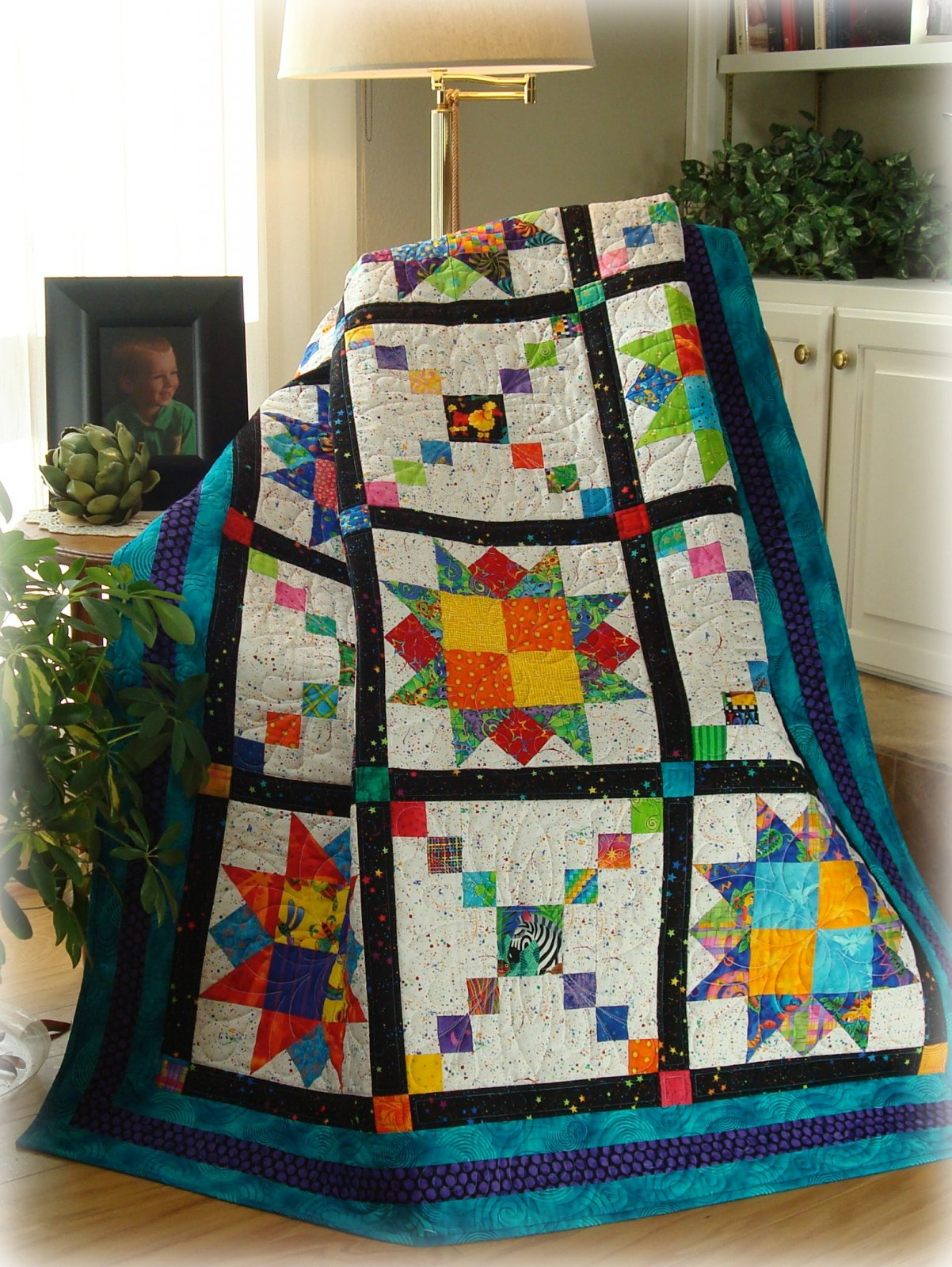 Playful Pathways Quilt Pattern Digital Download #435