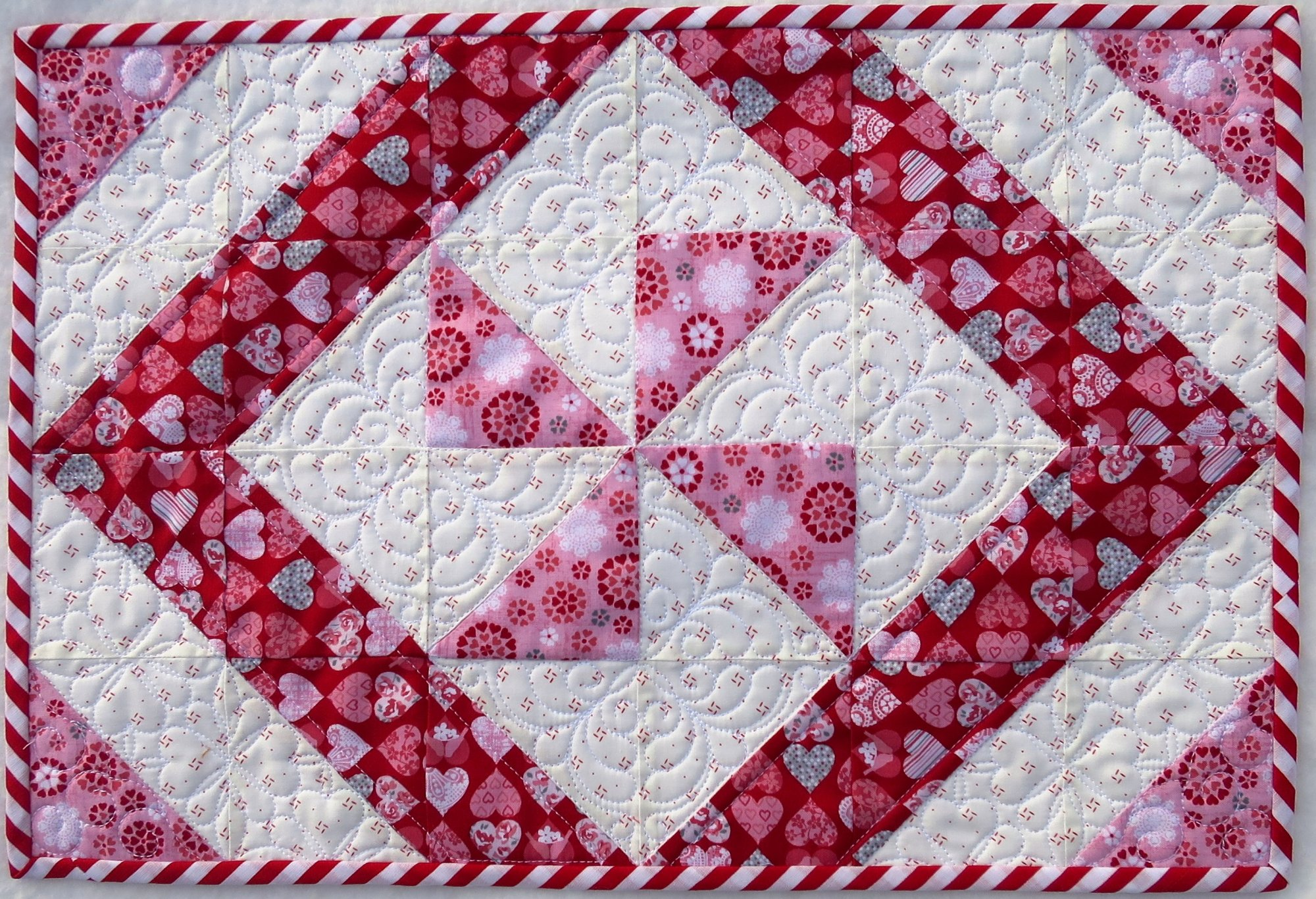 One Hour Placemat Pattern  - Paper Pattern #428