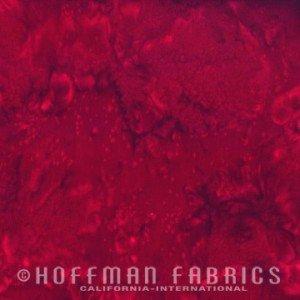 Hoffman 1895 Batik #231 Garnet
