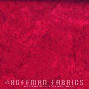 Hoffman 1895 Batik #292 Cardinal