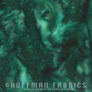 Hoffman 1895 Batik #309 Viridian