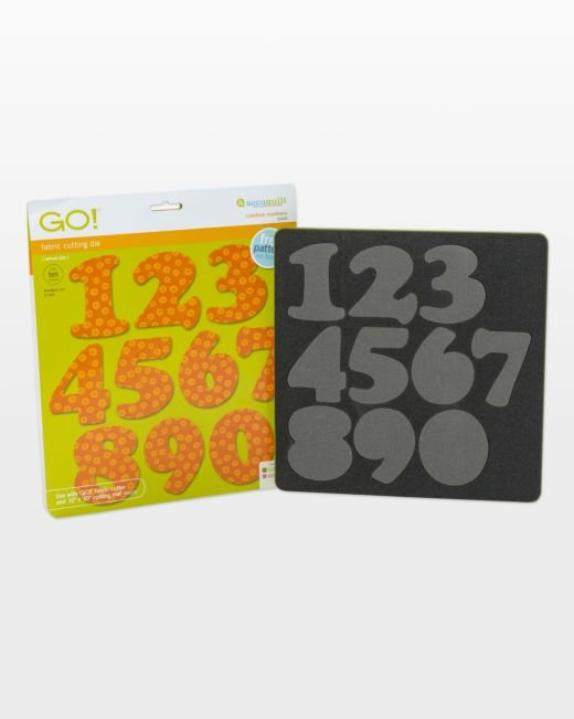 AccuQuilt GO! Carefree Numbers