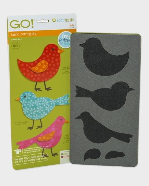 AccuQuilt GO! Birds Die (3 birds)