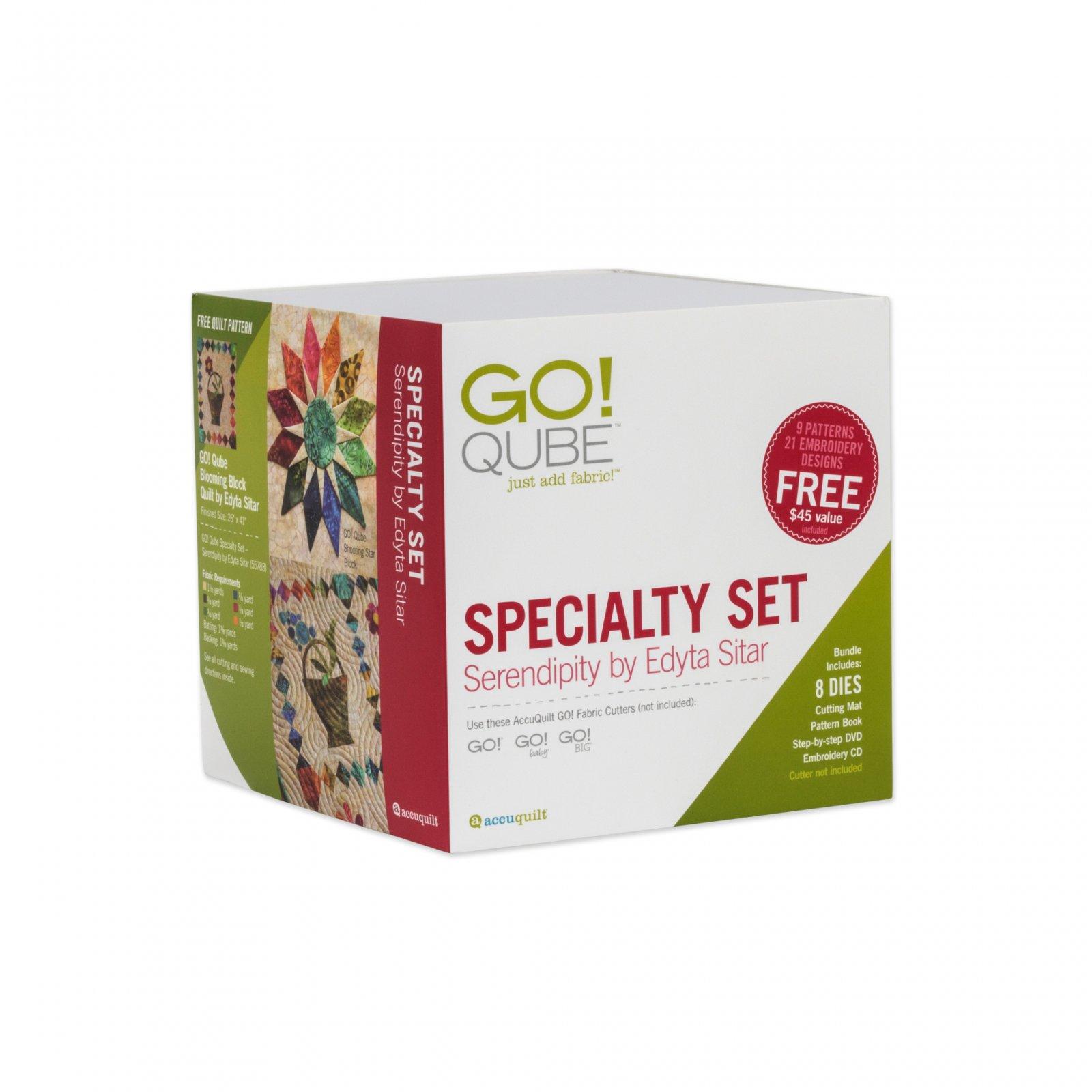 GO! Specialty Set - Serendipity Qube by Edyta Sitar