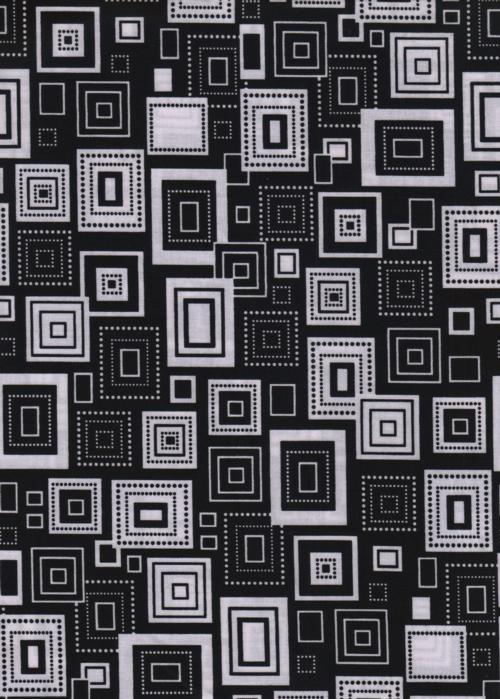 Elements Squares on Black