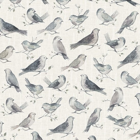 All a Twitter Allover Birds - Birch