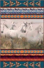Dream - Horses Quilt Kit