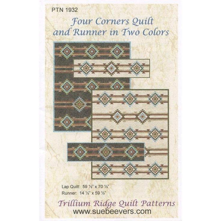 Four Corners Quilt & Runner Pattern
