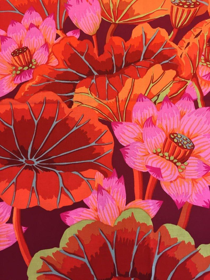 Kaffe Fasset Lake Blossoms - Red