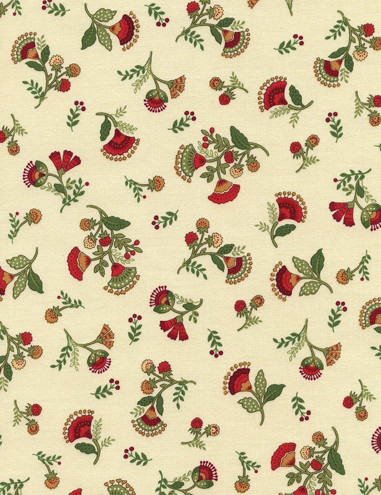 Jasmine Allover Floral on Cream