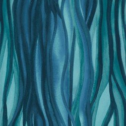 Wild by Nature -  Flowing Lines Blue